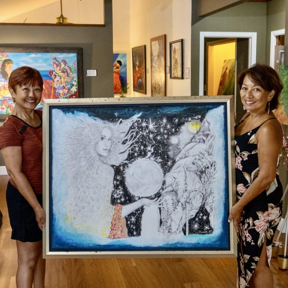 Leni Marie Acosta Knight: A Gift of Art from the Heart